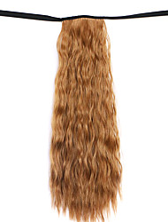 Yellow Deep Wave Lace Wig Corn Hot Ponytails 6A