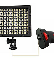 CN-126 LED Light with Flash Light Grip Handle for Camera