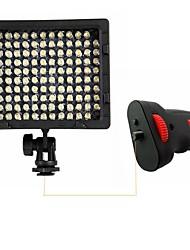 cn-126 a mené la lumière avec poignée de lumière du flash pour la caméra