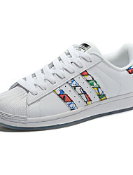 Adidas Originals Superstar Men's Shoe Skate Casual Sneakers Shoes White Red Yellow