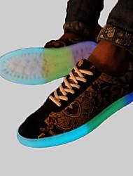 Women And Men Fashion Noctilucent Couples Sports Shoes