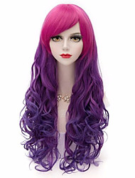 Capless Long Multi-color High Quality Body Wave Synthetic Wigs