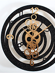 Fashion Creative Metal Gear Wall Clock