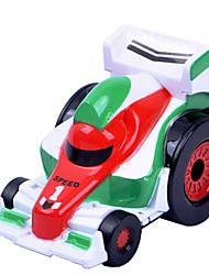 Dibang - carro romance liga de tensão espiral f1 velocidade do carro novo, infantil (12 mixpcs)