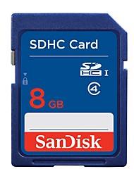 Origina 8gb class4 SanDisk SDHC UHS-я карта памяти