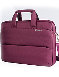 14 Inch Casual One-shoulder Korean Style Laptop Case Purple