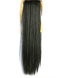 Green Straight Blending Long Straight Hair Wig Ponytails 2/613