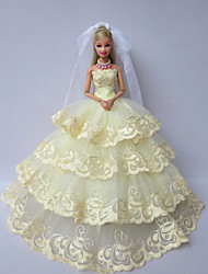 Wedding Dresses For Barbie Doll Green Dresses