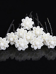 20 pcs  Women's Pearl Headpiece-Wedding U Shape Hair Pin / Hair Stick Jewelry
