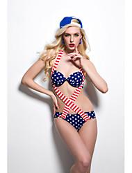 Flag Paragraph Piece Swimsuit Bikini