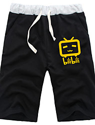 Inspired by Chinese Video Website Bilibili Daily Cosplay Boys' Pure Cotton Shorts