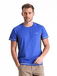 Course Tee-shirt / Hauts/Tops Homme Manches courtes Respirable / Séchage rapide / Antimite / Vestimentaire TérylèneCamping & Randonnée /
