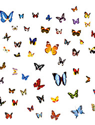 Tiere / Cartoon Design / Stillleben / Mode / Freizeit Wand-Sticker Flugzeug-Wand Sticker,PVC 45*30*0.1