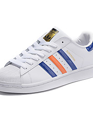 Adidas Originals Superstar Round Toe / Sneakers / Skateboarding Shoes / Running Shoes / Casual Shoes Men's Wearproof White / Black