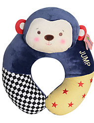 Metoo Senbao Monkey U-Shaped Pillow Cartoon Plush Toy Creative Birthday Monkey Mascot U-Shaped Pillow Circus Treasure