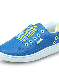 Baby Shoes-Casual-Sneakers alla moda / Mocassini-PU (Poliuretano)-Blu