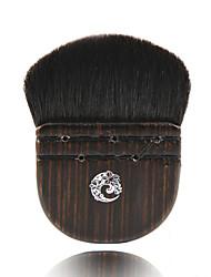 1 Pincel para Blush Escova de Cabelo de Cabra Profissional Madeira Rosto ENERGIA