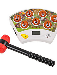 Bears Electric Music Whack-A-Mole Game Children's Educational Toys