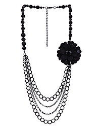 LGSP Women's Alloy Necklace Daily Acrylic61161006