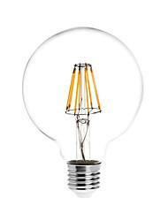 8W E26/E27 LED kulaté žárovky G95 8 COB 780 lm Teplá bílá Voděodolné AC 85-265 V 1 ks