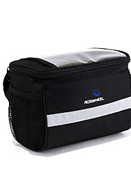 ROSWHEEL® Bike Bag 4.5LBike Handlebar Bag Waterproof Zipper / Moistureproof / Shockproof / Wearable Bicycle Bag PVC / 600D PolyesterCycle