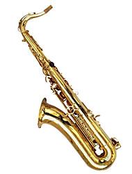 tenor imitação de ouro gota b pintura concha de ouro sax tenor