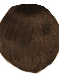 Wig Brown 8CM High-Temperature Wire knife style bangs Colour 2009