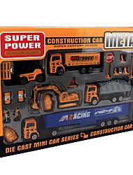 Дибанг -1699 взрыва моделей детской игрушки модели автомобиля сплава строительной техники игрушки ларек экскаваторы (8шт)