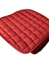 ajuste universal para o carro, caminhão, suv, ou van carro têxtil almofada do assento almofada do assento dianteiro (1 pedaços definido)