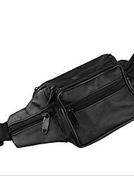 Herren PVC Formell Hüfttasche Braun / Schwarz
