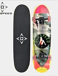 """Skateboard 31 """"mit einem 11mm chinesisch 9-lagig Ahorn Deck ABEC-3 Hochgeschwindigkeitslager Räder 58x32mm"""