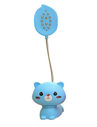 Creative Cute Little Animals LED Rechargeable Lamps Green Blue