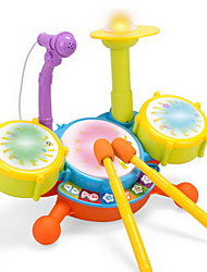 Children'S Dynamic Frame Drum Microphone Puzzle Toys