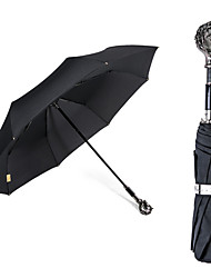 2016  Custom-Made  New Fashion Chinese Zodiac  The Animals Handle 3 Fold Umbrella