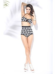 Damen Bikinis - Hochgeschnitten Nylon Halfter