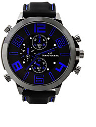 Large Dial Silicone Sports Watch Brand