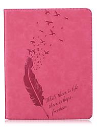 Для Бумажник для карт / Other Кейс для Чехол Кейс для Перо Мягкий Искусственная кожа Apple iPad 4/3/2