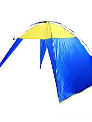 Refugio y Toldo de Camping(Azul,2 Personas) -A Prueba de Humedad / Impermeable / Transpirabilidad / Resistente a rayos UV