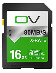 Ov Sd Card 16 Gb Memory Card C10 Slr Digital Cameras High-Speed Storage Audi A4/6 On-Board Flash Memory Cards