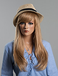 Fabulous Attractive Long Straight Human Hair Wigs