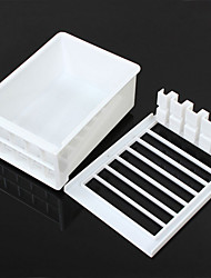 Cut Tofu Mold Box DIY Homemade Press-Maker Cooking Tools Plastic Soybean Curd Making Machine Mould Kitchen Supplies