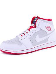 Nike Air Jordan 1 Retro High OG Women's Shoe Skate Chukka Sport Sneakers Athletic Casual Shoes White Red