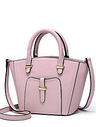 NAWO Mini leather handbag contracted joker smiling face oblique shoulders bag handbag but small bag bag