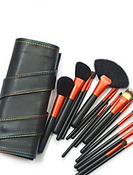9 Makeup Brushes Set / Blush Brush / Eyeshadow Brush / Lip Brush / Brow Brush / Powder Brush / Foundation Brush