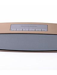 suministros de automoción de oro tarjeta de altavoz portable del bluetooth de radio estéreo mini