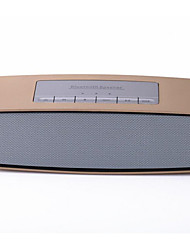 Automobilzuliefer- goldenen tragbare Bluetooth-Lautsprecher-Karte Mini-Stereo-Radio