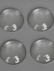 Beadia 20Pcs 20mm Flat Round Transparent Glass Cabochon For Earring Bracelet Necklace Jewelry Making