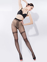 BONAS® Femme Couleur unie Moyen Legging-6520