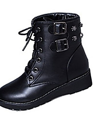 Women's Boots Fall Winter Fleece Casual Low Heel Others Black