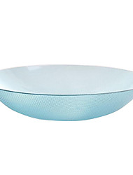 Random Color Dining Snack Fruit Plate Bowl Tray